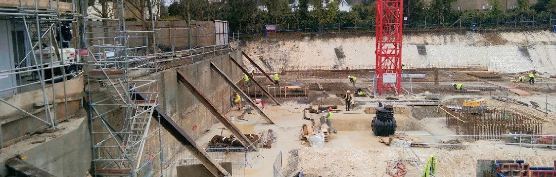 CGL are experts in Excavation Stability.