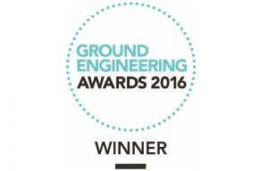 Winner Ground Engineering Awards 2016 - Subsea 7 Office HE development - CGL Project
