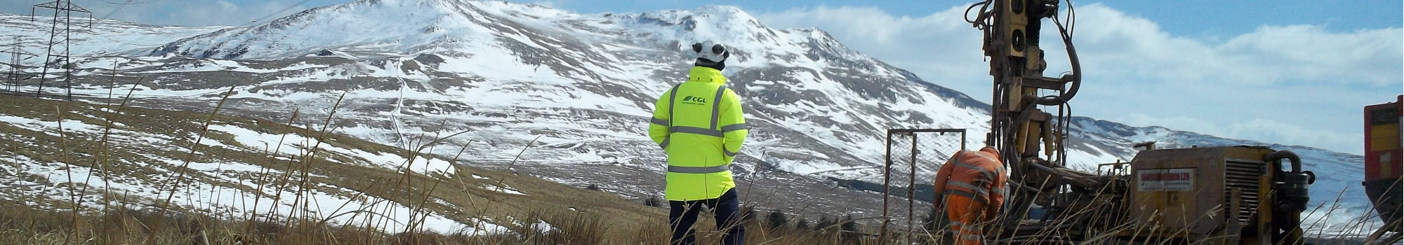 CGL offers Site Investigation solutions in remote and restricted access locations
