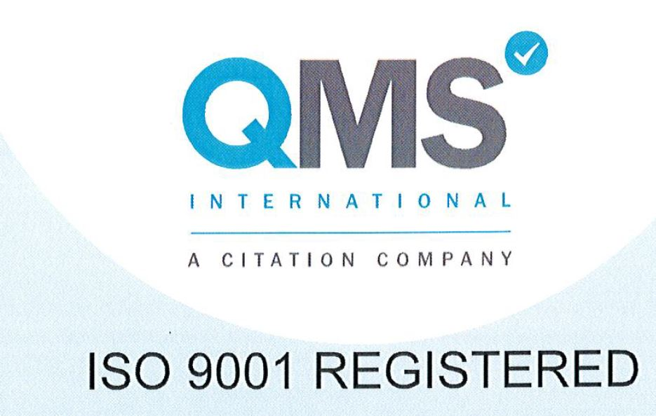 CGL Certified to 2015 Editions of ISO 9001 and 14001 Standards