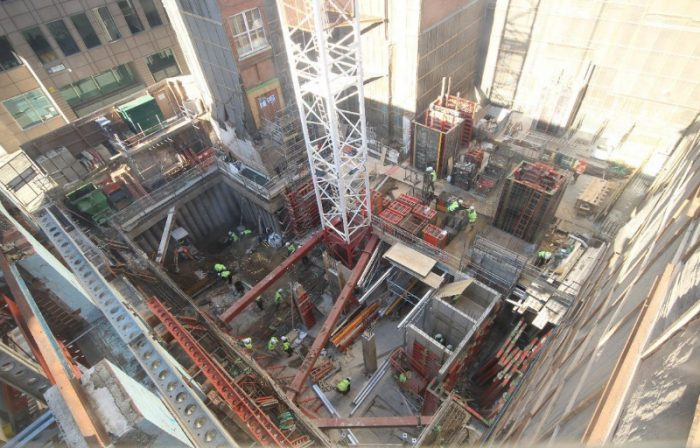 CGL assessed Excavation Stability at the Garlick Hill, London development