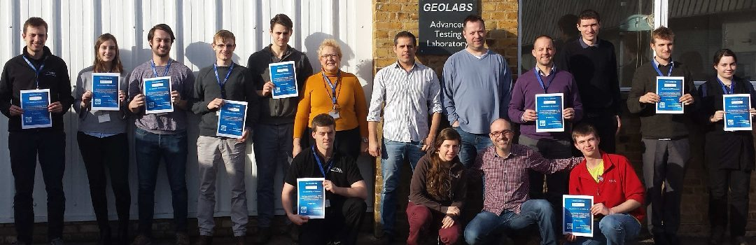 CGL Engineers Attend Lambeth and London Clay Advanced Training Course
