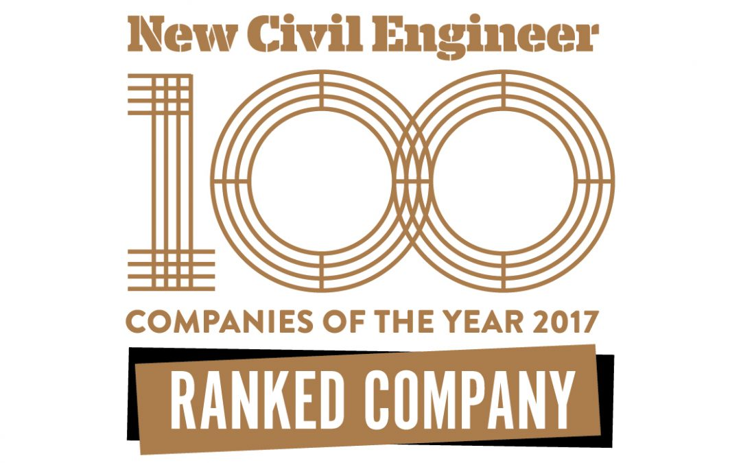New Civil Engineer Magazine Shortlists CGL for Two Awards
