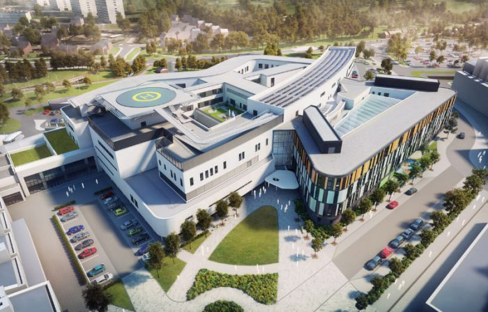 CGL provided waste assessment and materials management for the Royal Hospital for Sick Children development