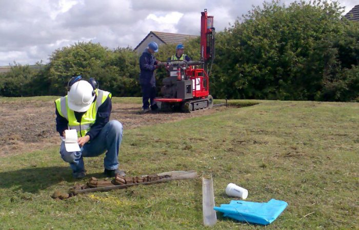 CGL Services - Photo of Site Investigation