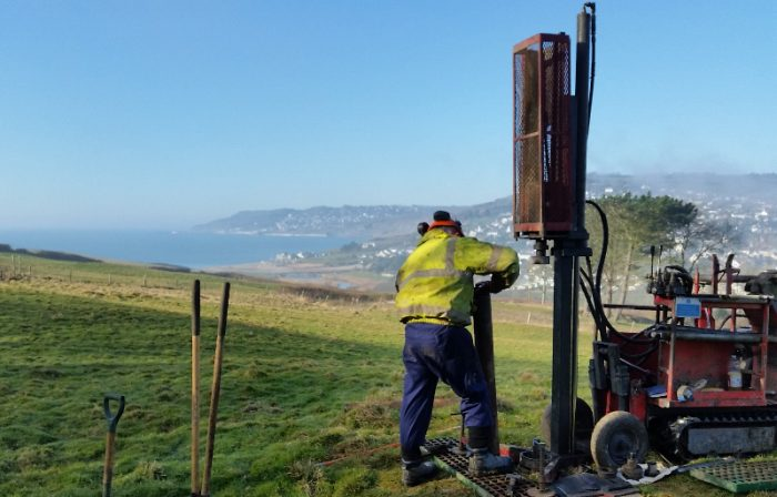 CGL's Site Investigation solutions were utilised in the remote Stonebarrow Lane, Charmouth developmentted access locations