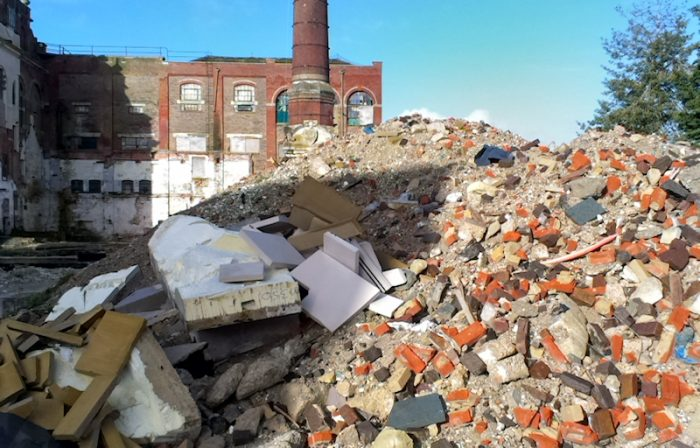 Photo of specialist construction waste management - CGL Services