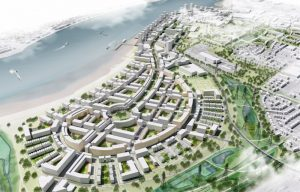 CGL image of Barking Riverside development that utilised CGL's Earthworks Design and Control