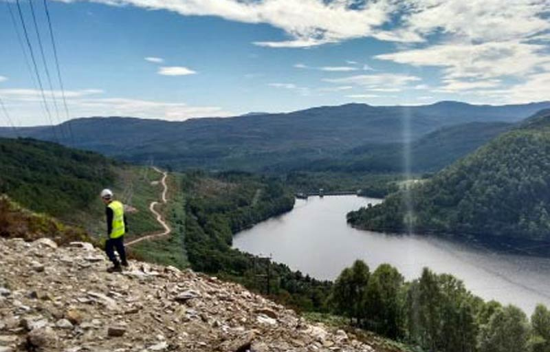 CGL Geoenvironmental Services - photo of remote site location in Scotland