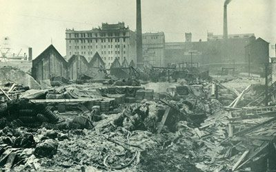 100 Years Since the UKs Biggest Explosion at Silvertown