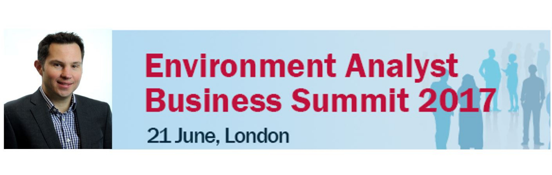 at the third annual environment analyst business summit in london