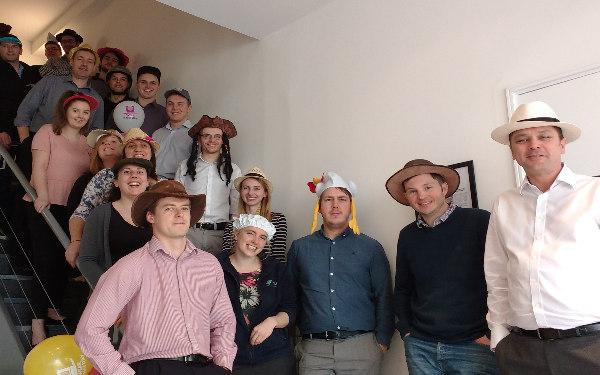 Wear a Hat Day and Comic Relief