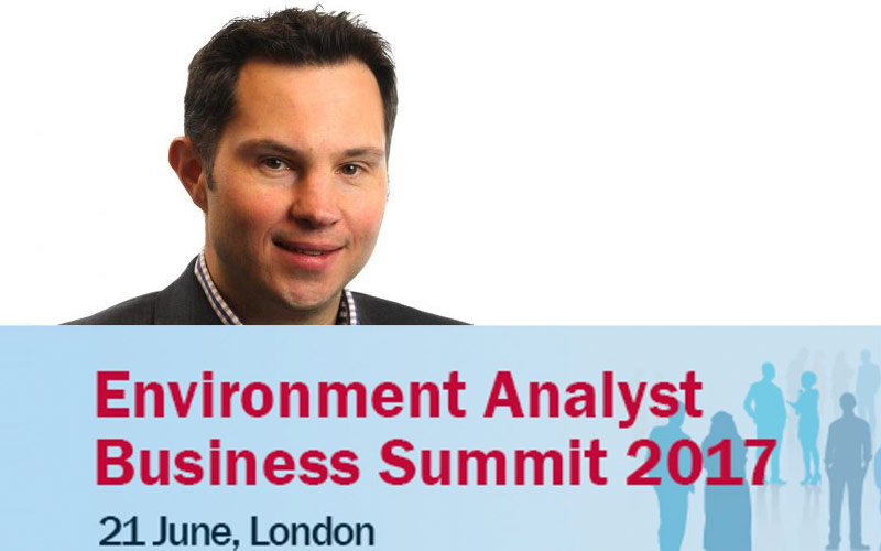 CGL to Speak at Environment Analyst Business Summit