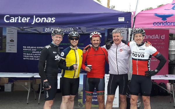 CGL Joins Carter Jonas LandAid Yorkshire Pedalthon