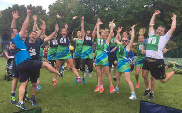 CGL Netball Team Retains Winner's Title