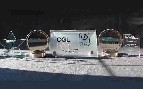 CGL Shortlisted for 10 Awards