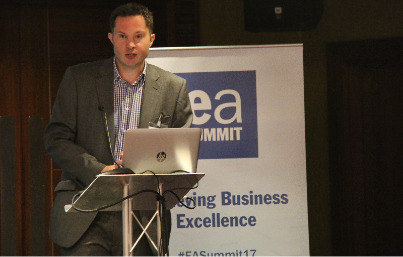 Dan speaking at Environment Analyst Business Summit