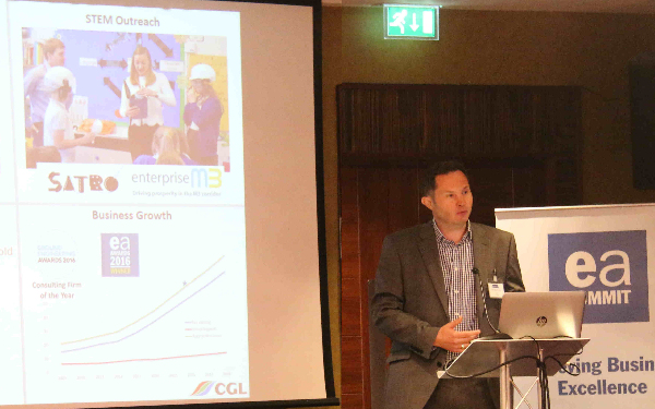 CGL Spoke at Environment Analyst Business Summit