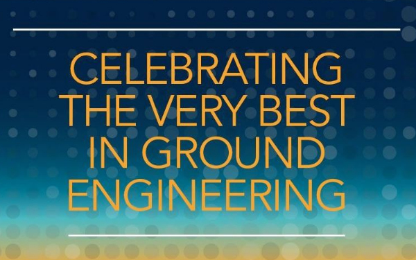 CGL Finalist for Four Ground Engineering Awards