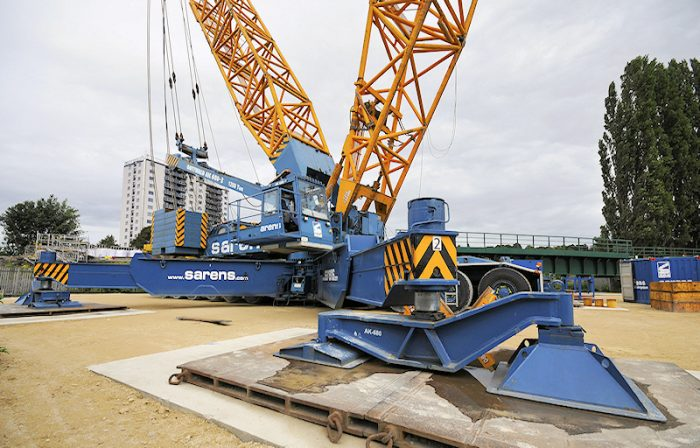 CGL Provided Temporary Works Design for the River Witham Rail Bridge development in Lincolnshire