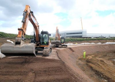 Improvements to M271 J1 for Lidl Redistribution Centre