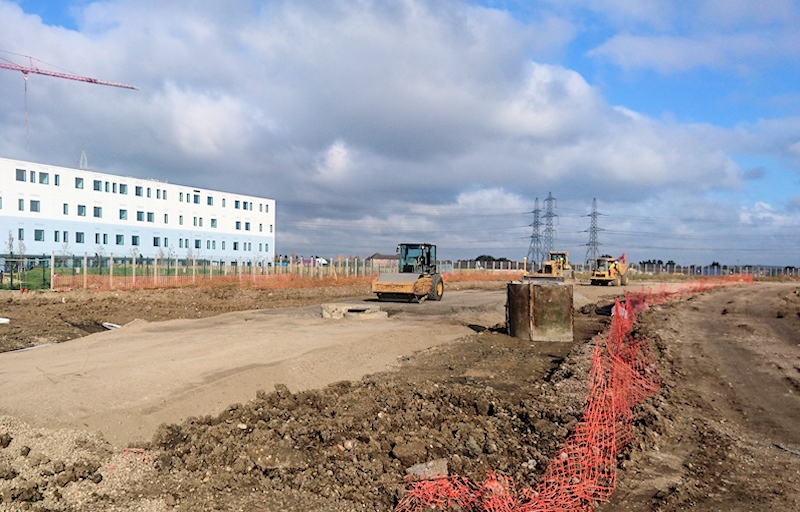 Barking Riverside Landfill and Contamination Remediation