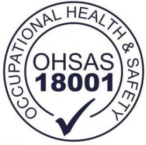 OHSAS 18001 Registration for CGL's Health and Safety Management System