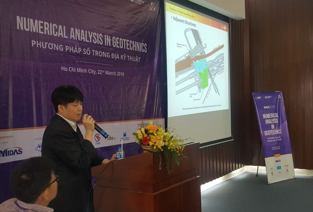 CGL Engineer's Research on Crossrail Shared at Event in Vietnam