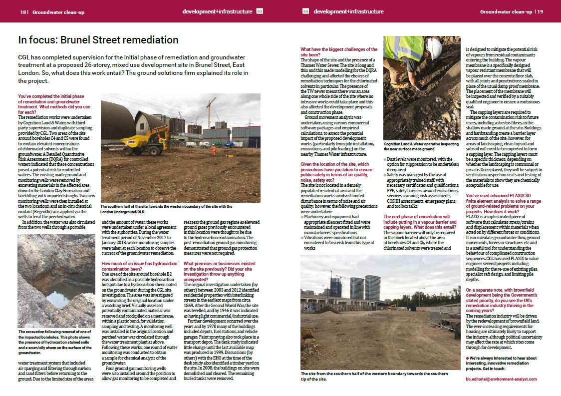 Brunel St article image | CGL