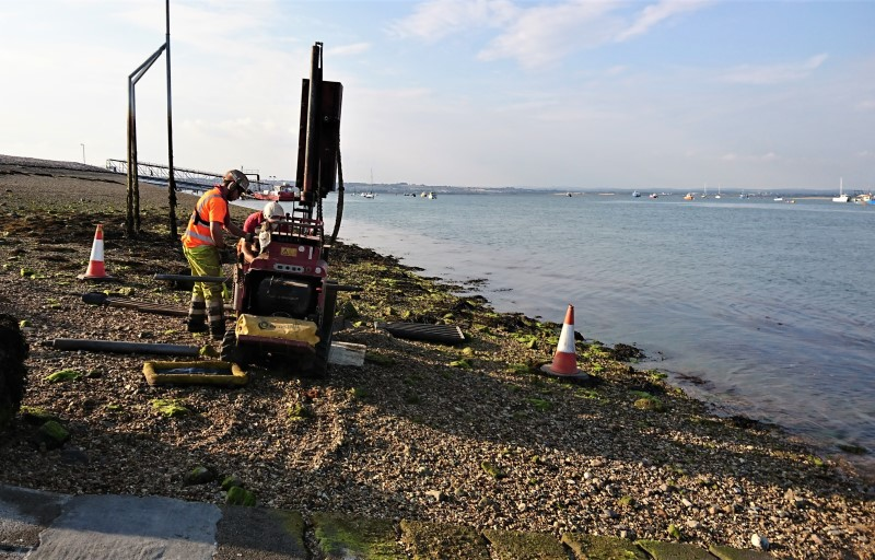 Supporting Works at Portsmouth Lifeboat Station