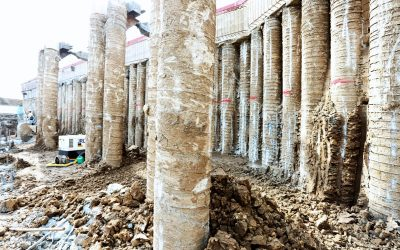 Buttress Pile System Employed Successfully Again by CGL