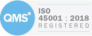 CGL Awarded ISO 45001: 2018 Certification
