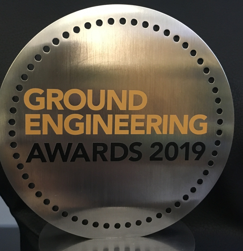 Ground Engineering 2017 Awards finalist