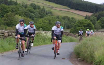 Team CGL at the Carter Jonas Yorkshire Pedalthon