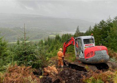 Inveraray to Crossaig OHL Scheme, Scotland