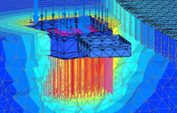 3D CGI model of Geotechnical design - CGL